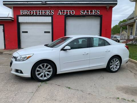 2014 Chevrolet Malibu for sale at BROTHERS AUTO SALES in Hampton IA