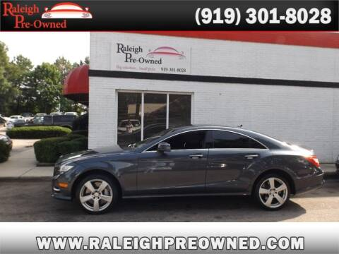 2013 Mercedes-Benz CLS for sale at Raleigh Pre-Owned in Raleigh NC