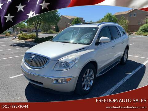2010 Buick Enclave for sale at Freedom Auto Sales in Albuquerque NM