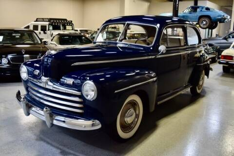 1946 Ford Super Deluxe Tudor Sedan for sale at Motorgroup LLC in Scottsdale AZ