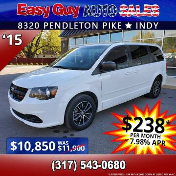 2015 Dodge Grand Caravan for sale at Easy Guy Auto Sales in Indianapolis IN