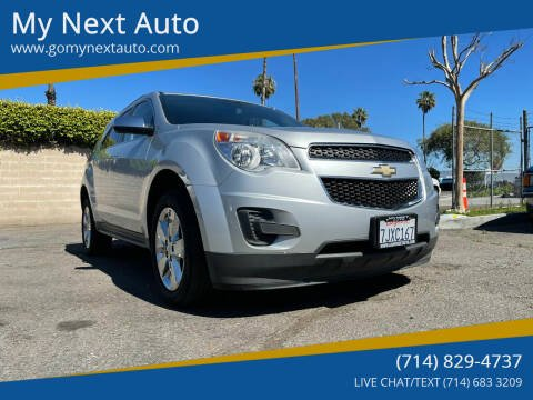 2015 Chevrolet Equinox for sale at My Next Auto in Anaheim CA