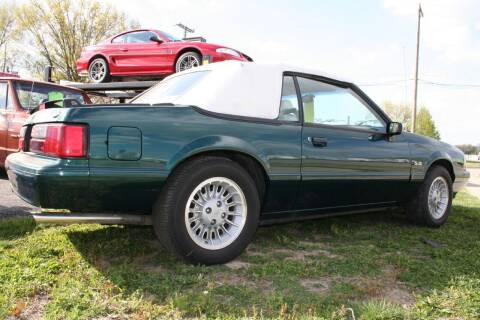1990 Ford Mustang for sale at Modern Classics Car Lot in Westland MI