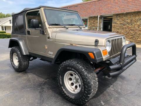 2004 Jeep Wrangler for sale at Approved Motors in Dillonvale OH