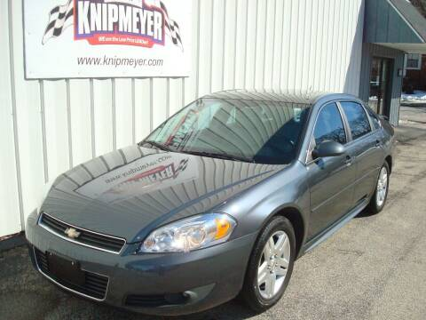 2011 Chevrolet Impala for sale at Team Knipmeyer in Beardstown IL