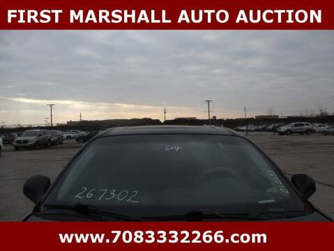 2004 Pontiac Grand Prix for sale at First Marshall Auto Auction in Harvey IL