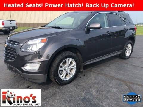 2016 Chevrolet Equinox for sale at Rino's Auto Sales in Celina OH
