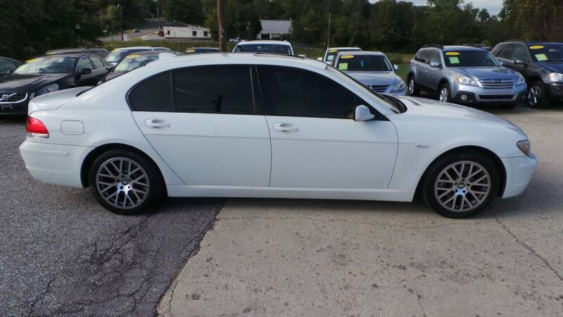 2008 BMW 7 Series for sale at Unlimited Auto Sales in Upper Marlboro MD