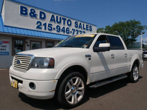2008 Ford F-150 for sale at B & D Auto Sales Inc. in Fairless Hills PA