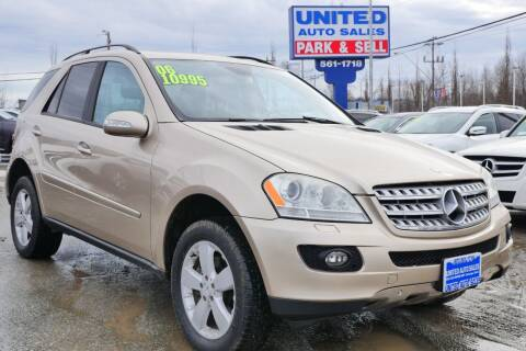 2006 Mercedes-Benz M-Class for sale at United Auto Sales in Anchorage AK