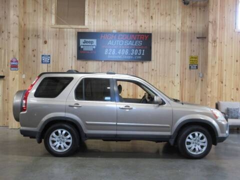 2006 Honda CR-V for sale at Boone NC Jeeps-High Country Auto Sales in Boone NC