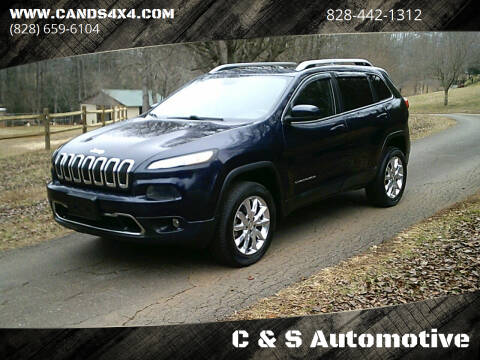 2015 Jeep Cherokee for sale at C & S Automotive in Nebo NC