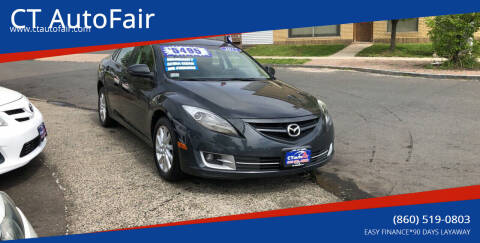 2012 Mazda MAZDA6 for sale at CT AutoFair in West Hartford CT