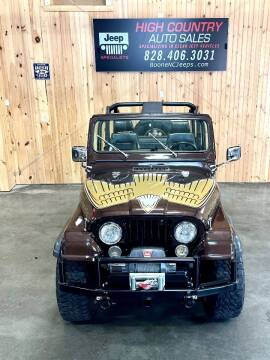 1981 Jeep CJ-7 for sale at Boone NC Jeeps-High Country Auto Sales in Boone NC