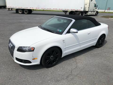 2007 Audi S4 for sale at MECHANICSBURG SPORT CAR CENTER in Mechanicsburg PA