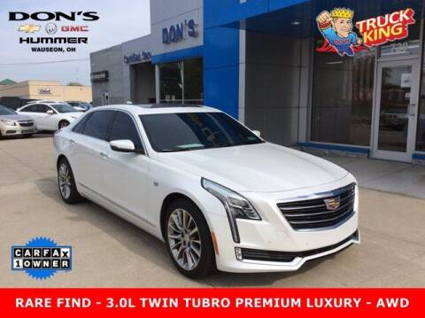 2018 Cadillac CT6 for sale at DON'S CHEVY, BUICK-GMC & CADILLAC in Wauseon OH