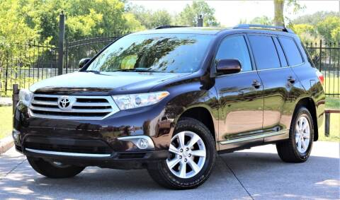 2012 Toyota Highlander for sale at Texas Auto Corporation in Houston TX