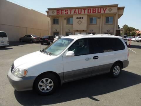 2005 Kia Sedona for sale at Best Auto Buy in Las Vegas NV
