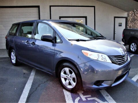 2014 Toyota Sienna for sale at DriveTime Plaza in Roseville CA