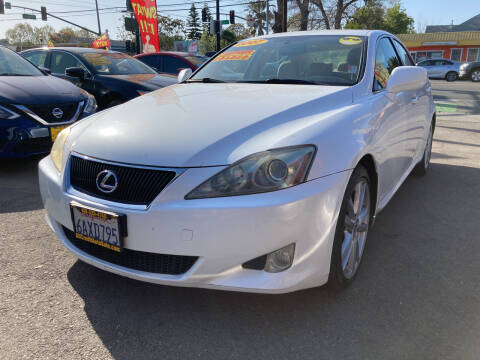 2007 Lexus IS 250 for sale at ALL CREDIT AUTO SALES in San Jose CA