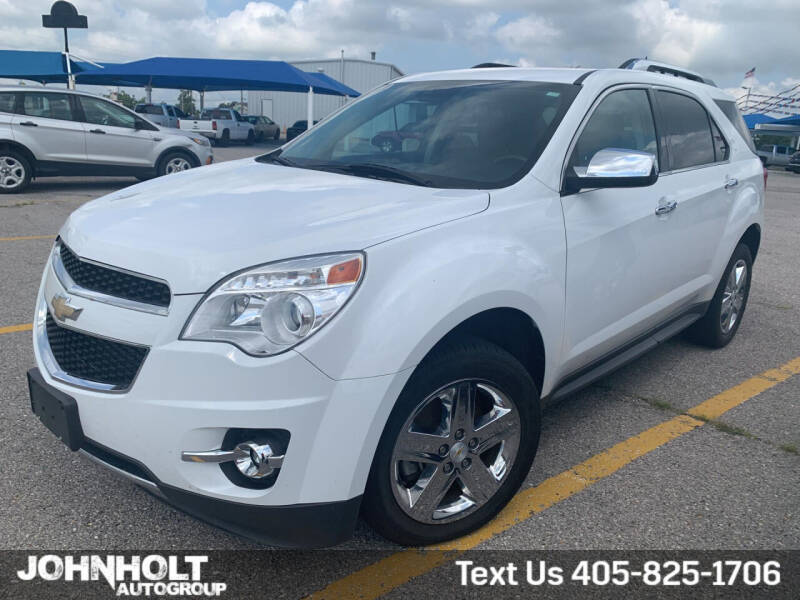 2015 Chevrolet Equinox for sale at JOHN HOLT AUTO GROUP, INC. in Chickasha OK
