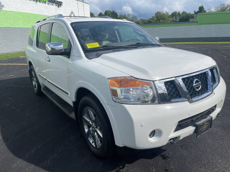 2011 Nissan Armada for sale at South Shore Auto Mall in Whitman MA