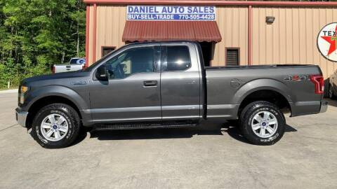 2016 Ford F-150 for sale at Daniel Used Auto Sales in Dallas GA