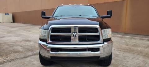 2012 RAM Ram Pickup 3500 for sale at ALL STAR MOTORS INC in Houston TX