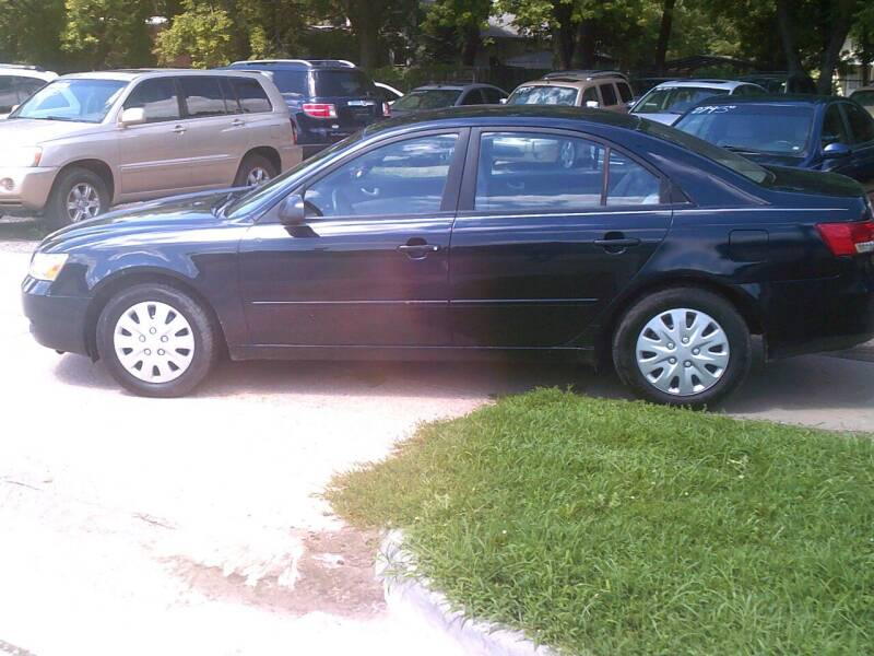 2006 Hyundai Sonata for sale at D & D Auto Sales in Topeka KS