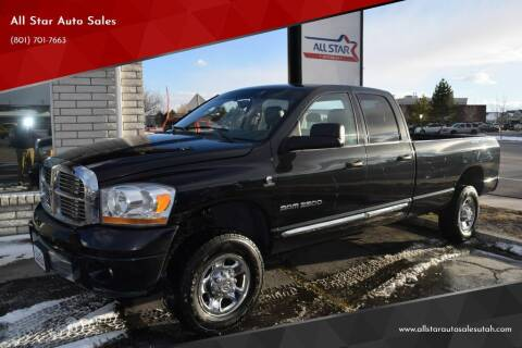 2006 Dodge Ram Pickup 2500 for sale at All Star Auto Sales in Pleasant Grove UT
