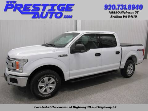 2018 Ford F-150 for sale at Prestige Auto Sales in Brillion WI