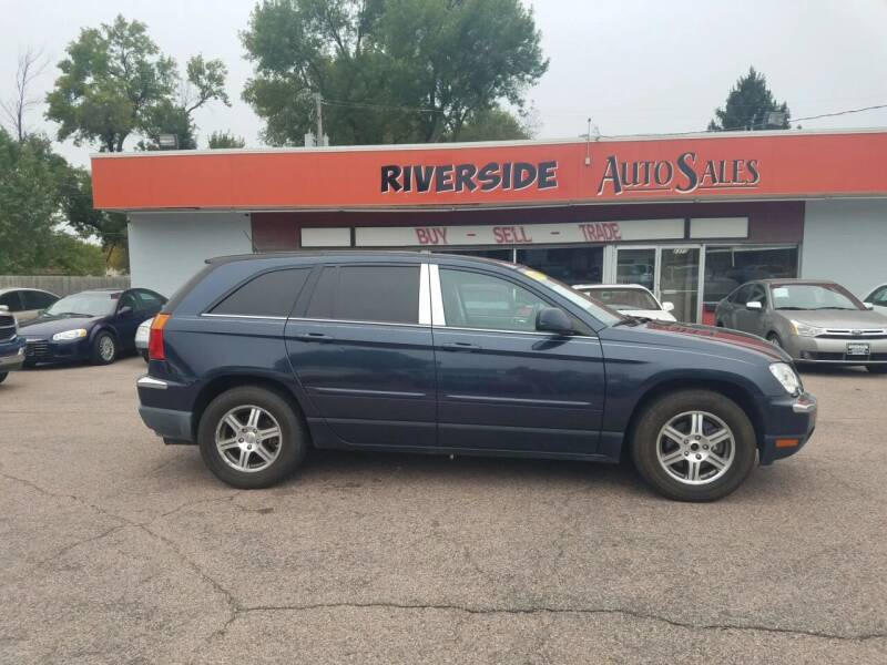 2007 Chrysler Pacifica for sale at RIVERSIDE AUTO SALES in Sioux City IA