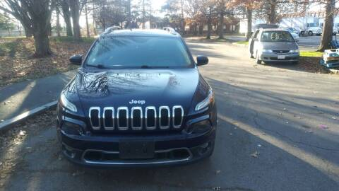 2016 Jeep Cherokee for sale at Choice Motor Group in Lawrence MA