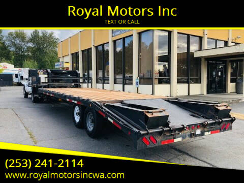 2006 TRAILER MASTER GOOSE NECK for sale at Royal Motors Inc in Kent WA