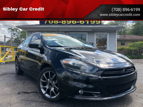 2016 Dodge Dart for sale at Sibley Car Credit in Dolton IL