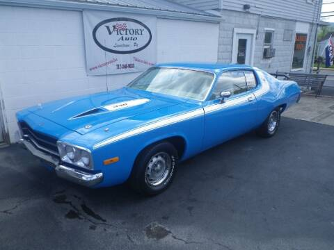 1973 Plymouth Roadrunner for sale at VICTORY AUTO in Lewistown PA