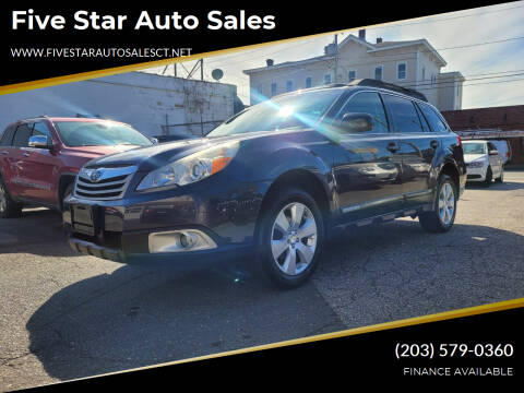 2012 Subaru Outback for sale at Five Star Auto Sales in Bridgeport CT