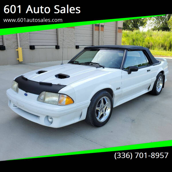 1990 Ford Mustang for sale at 601 Auto Sales in Mocksville NC