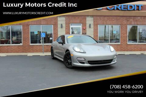 2011 Porsche Panamera for sale at Luxury Motors Credit Inc in Bridgeview IL
