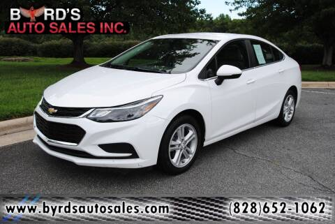 2018 Chevrolet Cruze for sale at Byrds Auto Sales in Marion NC