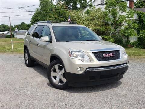 2012 GMC Acadia for sale at Auto Mart in Kannapolis NC