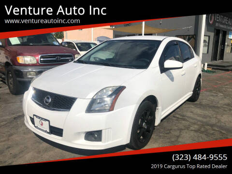 2011 Nissan Sentra for sale at Venture Auto Inc in South Gate CA