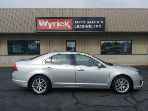 2011 Ford Fusion for sale at Wyrick Auto Sales & Leasing-Holland in Holland MI