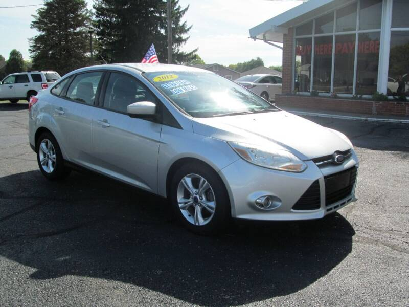 2012 Ford Focus for sale at Jamestown Auto Sales, Inc. in Xenia OH