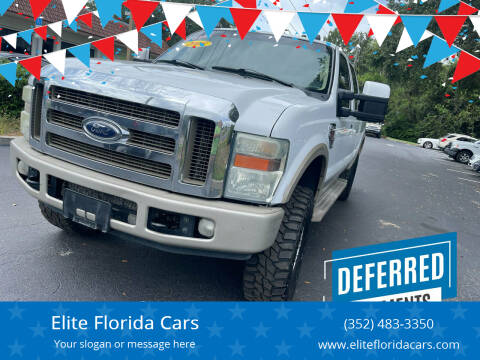 2008 Ford F-250 Super Duty for sale at Elite Florida Cars in Tavares FL