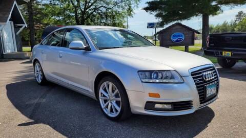 2009 Audi A6 for sale at Shores Auto in Lakeland Shores MN