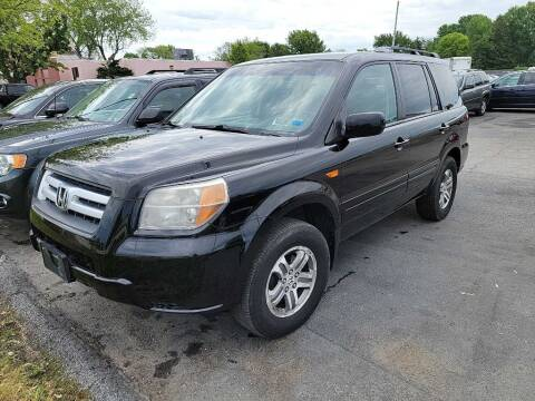 2008 Honda Pilot for sale at Lakeshore Auto Wholesalers in Amherst OH