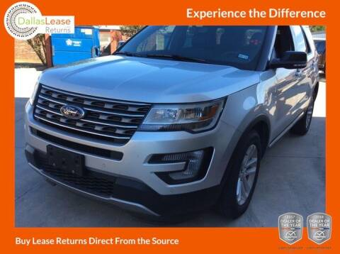 2016 Ford Explorer for sale at Dallas Auto Finance in Dallas TX