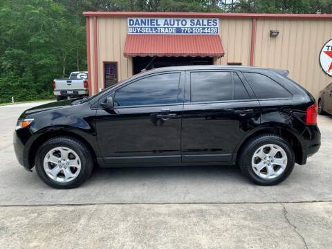 2012 Ford Edge for sale at Daniel Used Auto Sales in Dallas GA