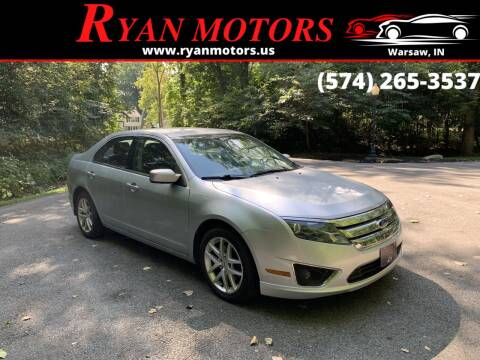2012 Ford Fusion for sale at Ryan Motors LLC in Warsaw IN